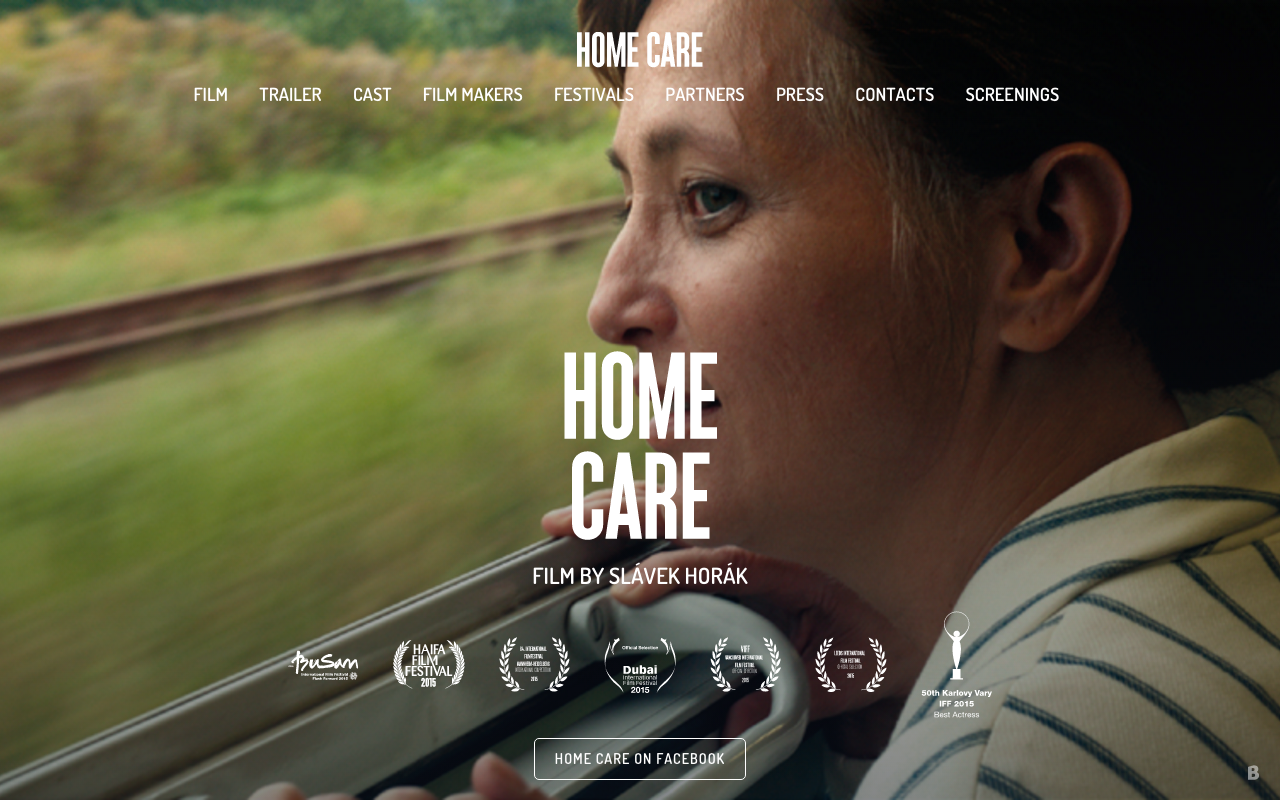 "Czech film ""Home Care"" (Domaci pece) at  Arlington International Film Festival – October 30, 2016"